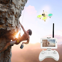 Mini Drone camera RC helicopter Altitude Hold Quadcopter with visible Monitor control 6 Axis Gyroscope
