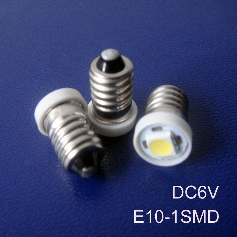 High quality 6V 6.3V E10 Led Signal Light,E10 Led Bulb Lamp Light,Led Indicator lamp,Led Warning light free shipping 10pcs/lot