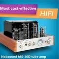 Nobsound MS-10D Hifi 2.0 Amplificador de Tubo de Vacío caliente USB/Home Audio Amplificador de Potencia 25 W * 2 220 v Amplificador de Auriculares estéreo