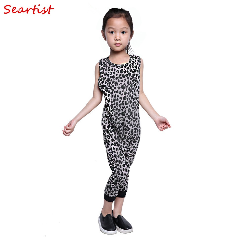 Seartist Baby Summer Romper Girls Boys Leopard Jumpsuit Kids Leopard Drop Crotch Jumper 2018 New Baby Girl Boy Clothes 30