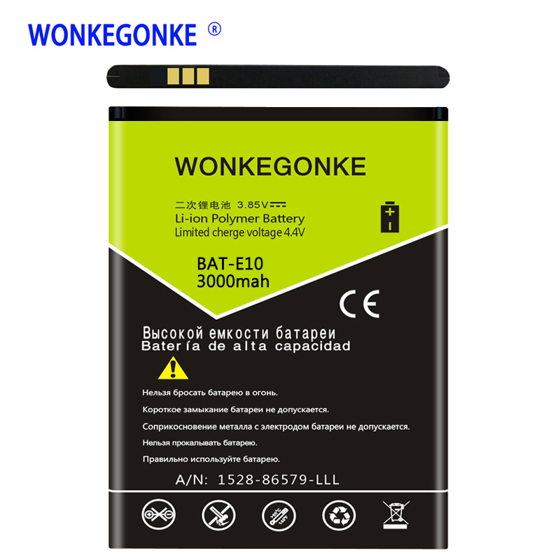 WONKEGONKE BAT-E10 (1ICP4/58/71) ICP9375870L1 Battery for Acer Liquid Z530 LTE T02 Z530S Lithium Polymer Batteries BateriaWONKEGONKE BAT-E10 (1ICP4/58/71) ICP9375870L1 Battery for Acer Liquid Z530 LTE T02 Z530S Lithium Polymer Batteries Bateria