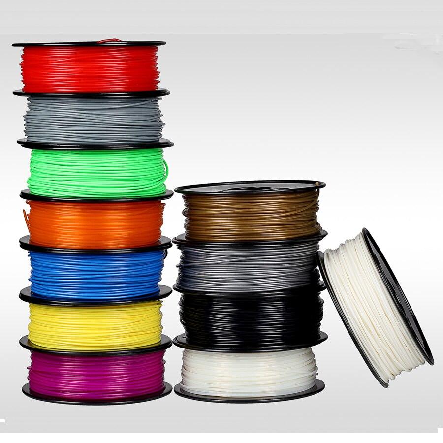 3D Filament ABS /PLA 1.75mm 3D Printer Filament Materials for 3D Printing Pen and 3D Printer  biqu new spool filament mount rack bracket for pla abs filament 3d printer