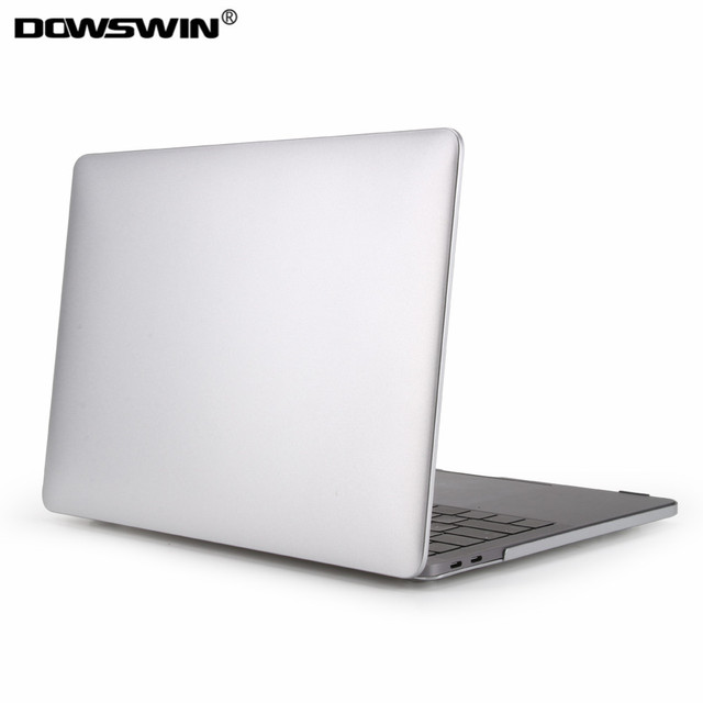 promo code 99d89 601f2 US $14.81 12% OFF|for macbook pro case,dowswin laptop cover for apple  macbook pro 13 15 case touch bar hard pc protector +matte keyboard cover-in  ...