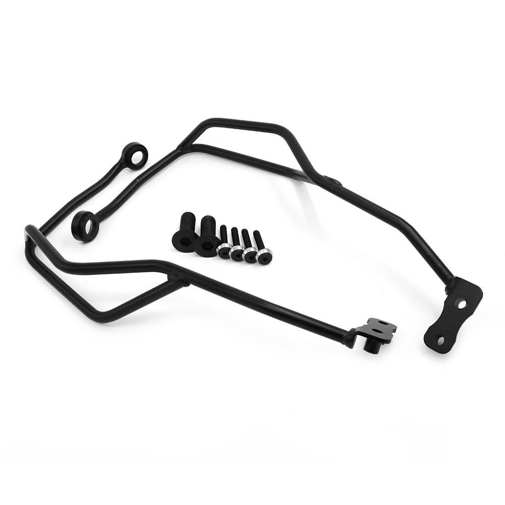 Steel Left Right Motorcycle Font Handle Bar Hand Guard Bumper Frame Protector for Honda CRF1000L CRF