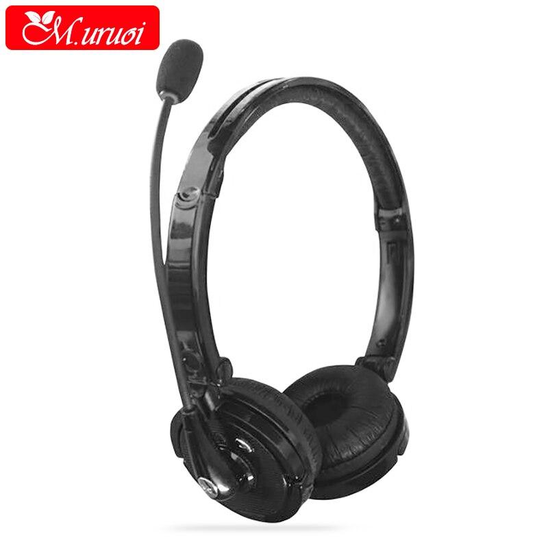 M uruoi Earpiece Bluetooth Kulakl k Handsfree Earphone Microphone font b Headset b font Gamer Stereo