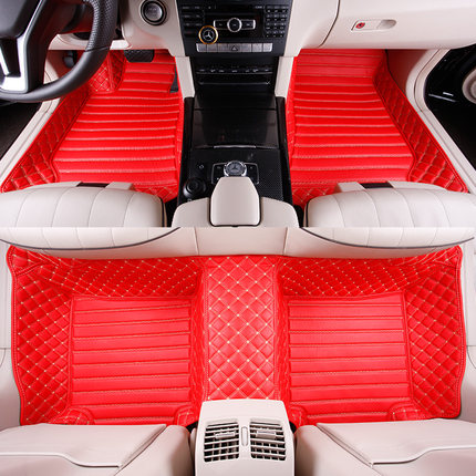 Custom full covered special car floor mats for Mercedes-Benz A B C E G CLASS CL CLA CLK CLS GLSLK 5seat waterproof durable rugs