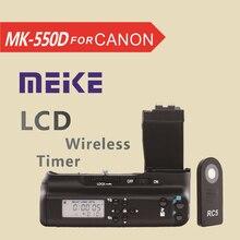 Meike MK550DL LCD Minuterie Battery Grip pour Canon EOS 550d 600d 650d 700d T5i T4i T3i T2i