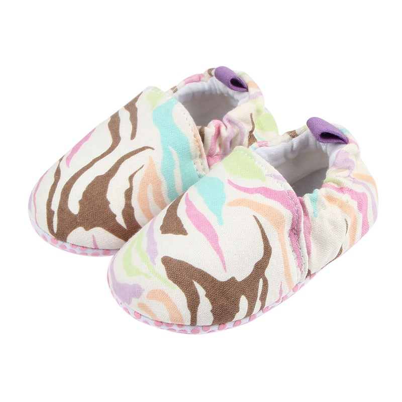Newborn Baby Knitted Cotton Shoes First Walker Baby Boys and Girls Toddler Anti-drop Camouflage Blue Lace-up Shoes
