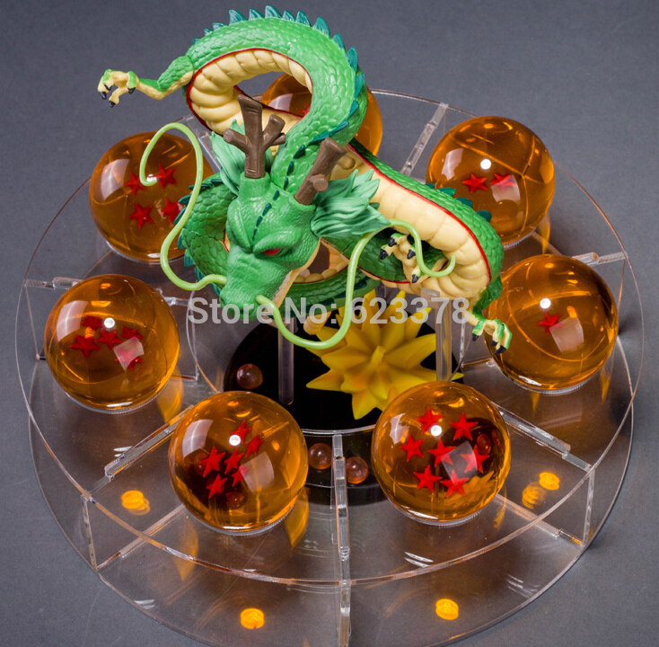 figuras dragon ball z action figures dragonball figures anime esferas del dragonpcs set pvc ballsshelf brinquedos kids toysin action u toy figures from