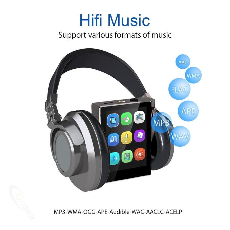 Image 3 - Mp3 плеер с Bluetooth 16 Гб FM радио HiFi музыкальный плеер с высоким разрешением без потерь цифровой аудио с видео электронная книга Запись 8 Гб-in MP3-плееры from Бытовая электроника on AliExpress