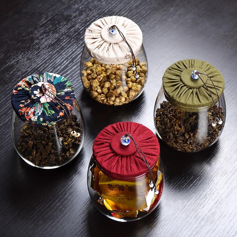 ELETON Kork Glas Teekanne Deckel versiegelte Flasche kreative - Home Storage und Organisation - Foto 3