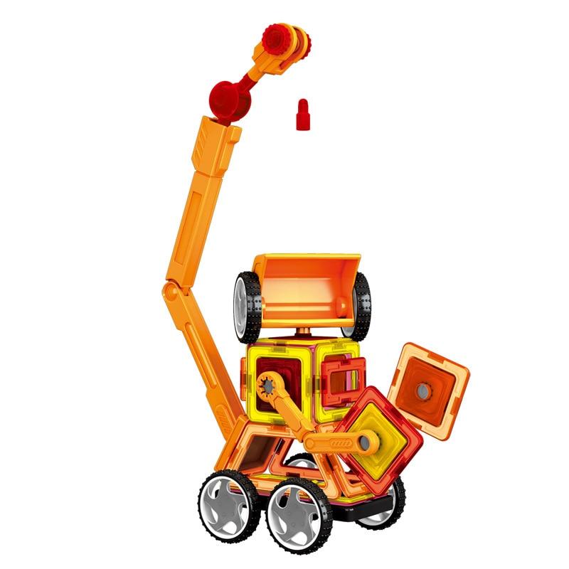 Mini 60Pcs / Lot Magnetic Designer Construction Set Model & Building - Կառուցողական խաղեր - Լուսանկար 5