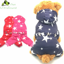 KING-S PET Dogs Pets Clothing Coat Jacket Teddy Chihuahua More Stars Clothes Small Four Legs Puppy Leisure Style Size S-XXL