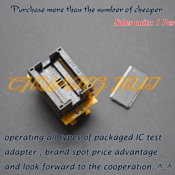 TSOP50 to SSOP50 test socket 1x16 flash tset socket