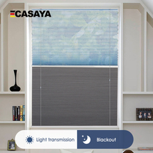 Double-Blinds Pleated-Day Cellular Living-Room Customize-Size And Bottom for Open-Top