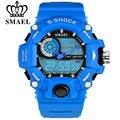 SMAEL S-Choque Homens Sports Relógios LED Digital-Relógio Moda Relógio Militar Do Exército de Borracha De Escalada Ao Ar Livre À Prova D' Água Reloj Hombre