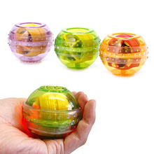 Wrist Muscle Trainer Relax Force Power Exercise Strengthen LED Ball Sport Tool W15
