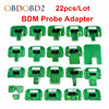 22pcs BDM Probe Adapters ECU RAMP For KESS KTAG BDM100 CMD100 FGTECH V54 BDM Frame Full