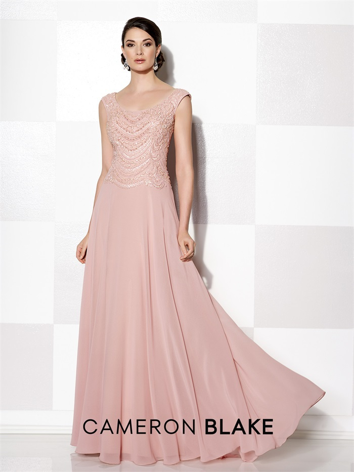 Blush Mother Of The Bride Dress - Gommap Blog