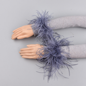 Ostrich fur Cuffs Genuine Ostrich Fur Cu