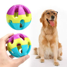 Pet Dog Toy Ball Teeth Cleaning Chew Toy For Dogs Play Molar Toys Balls Pet Supplies Puppy Bite Resistant Sound Ball Jingle Bell