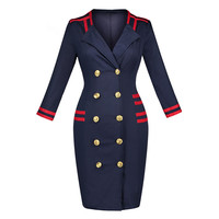 Sisjuly Vintage 2017 Full Sleeve Women Dresses Elegant 2017 Sheath Blue Bodycon Autumn Female Tight Dress