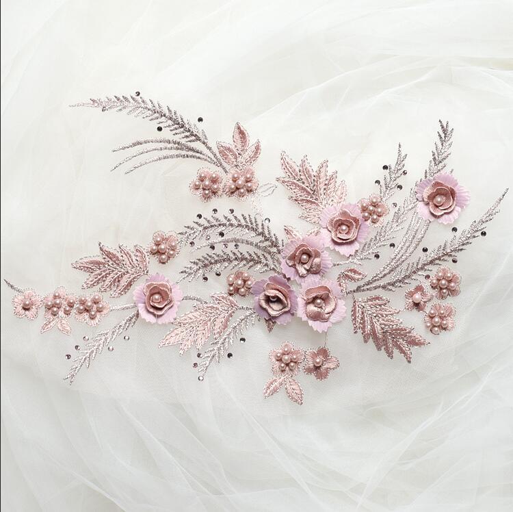 Farbe 1Pair 16colors 3D bördelt dekorative Zusätze A804 der heißen - Kunst, Handwerk und Nähen