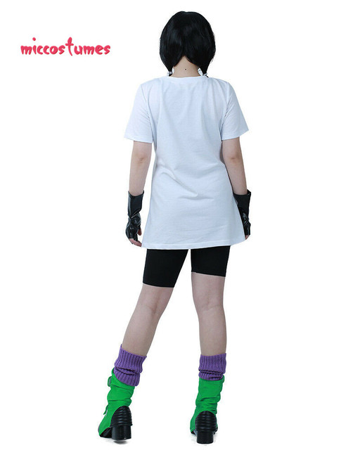 Videl Cosplay Costume with Gloves and Shoe Covers 4