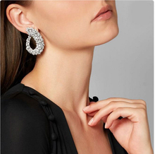 RAKOL Famous Luxury Popular Geometry Flower Full Mirco Paved Cubic Zirconia Wedding Earring Fashion Dinner Dress Jewelry цена