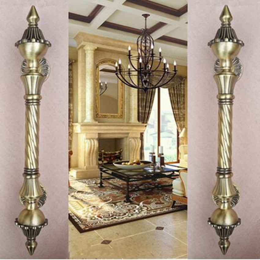Aliexpress.com : Buy 450mm vintage big gate handle Red bronze glass door  handle antique brass wooden door pull 550mm Europe style door handles Retro  from ... - Aliexpress.com : Buy 450mm Vintage Big Gate Handle Red Bronze