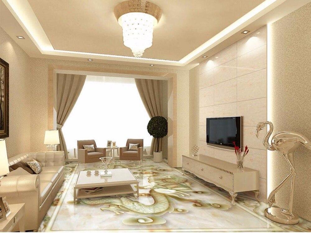 3d floor painting wallpaper jade relief 3d flooring 3d - Waterproof floor paint for bathrooms ...