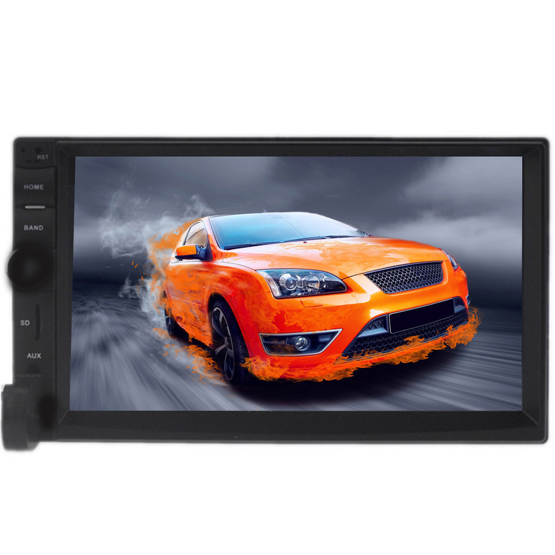 Dongzhen 7 inch Bluetooth Audio Touch Screen Car Radio Car Audio Stereo MP3 MP5 Player USB 7018B 7 Support for SD/MMC control