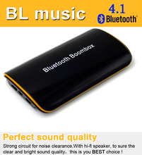 Compatible Wireless Hands-free Stereo Bluetooth Receiver Audio Music Box with Mic Speaker Car AUX System Devices High Fidelity