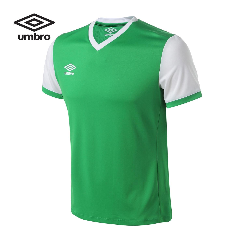 8be9e1ea51e Umbro 2016 New Men Shirt Sportswear Short Sleeve Shirt T shirt Tee Tops  Sweatshirt Football clothes UCA63415-in Soccer Jerseys from Sports &  Entertainment ...