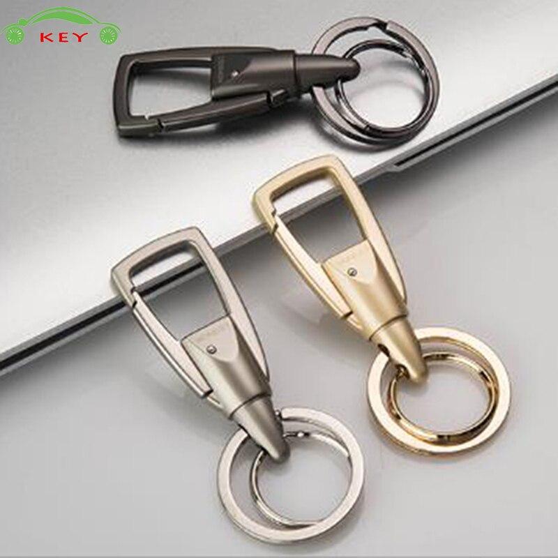 High-end Car Styling Keychain Auto Men Simple Keyring Key Holder For Subaru Mazda Lada Skoda Volvo Opel Fiat BMW Audi Mercedes