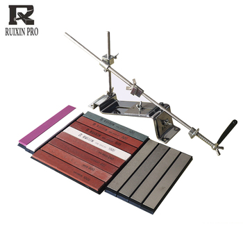 Knife Sharpener Angle Guide Kitchen Accessories Ruixin Pro iii Professional Sharpening System diamond sharpening stone whetstone kme diamond knife sharpener angle sharpening stone whetstone professional knife sharpener tool bar oil stone