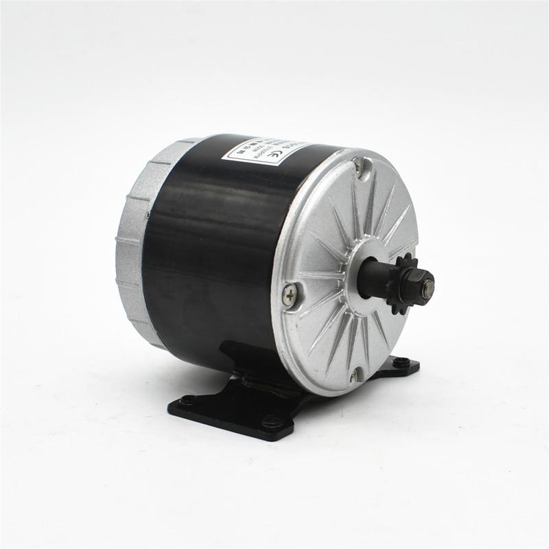 MY1016 24 V 36 V 350 W Bürste Hochgeschwindigkeits-Gleichstrommotor - Radfahren - Foto 1
