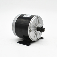 MY1016 24V 36V 350W Brush High Speed DC Motor Electric Bicycle E COOTER Ebike Brushed Motor bike Accessories