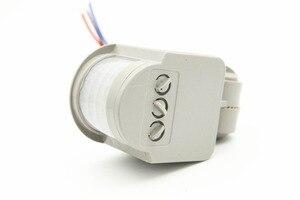 Image 1 - Yeni Hareket sensörlü ışık Anahtarı Açık AC 220 V Otomatik Kızılötesi PIR Hareket Sensörü Anahtarı led ışık