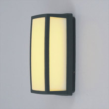 Modern led outdoor wall lamp waterproof lampara led pared villa balcony sconce IP54 fence corridor garden light community bra