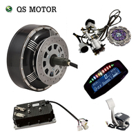 QSMOTOR 4wd 8000W 273 50H V3 electric car hub motor conversion kits with KLS96501 8080H controller