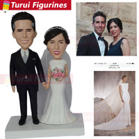 Cute Mini Figurines wedding cake toppers silhouette wedding cake toppers figurines photo to cake topper personalized suppliers
