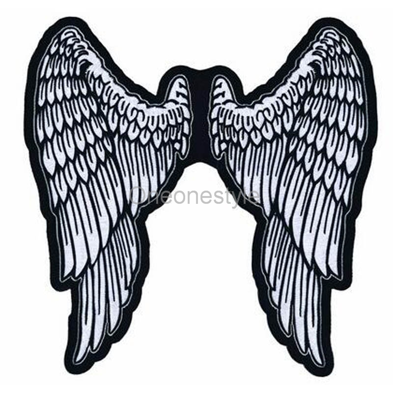 Custom your own Motorcycle Biker Patches Iron on/Sew on Embroidered Patches for Jacket Clothing - 6