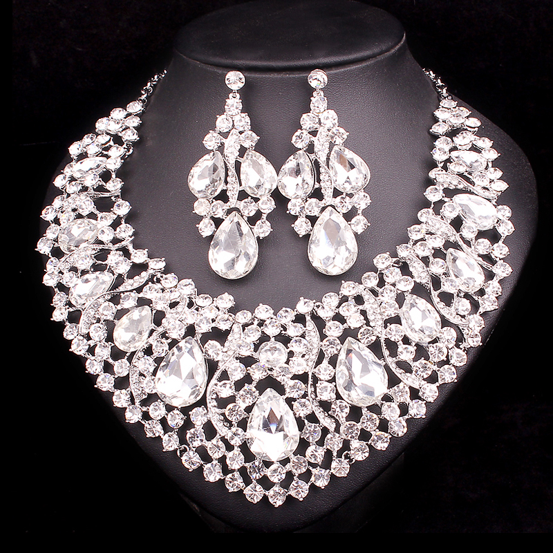 Aliexpress.com : Buy Fashion Indian Jewellery Crystal ...