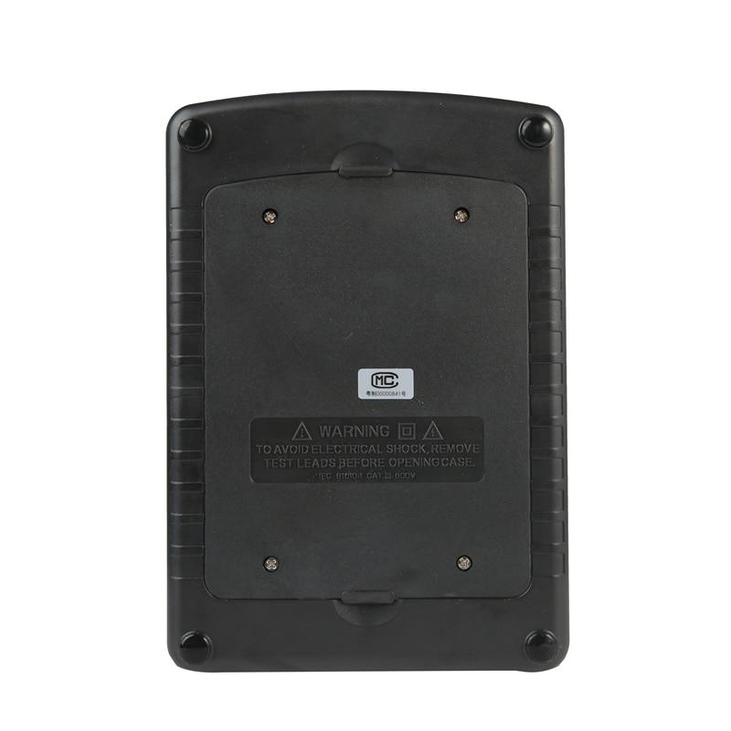Image 5 - LCD High Voltage Insulation Tester Portable Digital Insulation Resistance Meter 600V DC/AC Voltage Tester Auto Discharge GM3125tester electricitytester peugeottester paper -