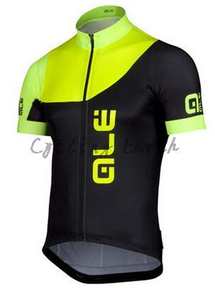 Prix pour Hq Hot vente! Ale 2015 # 2 manches courtes vélo jersey respirant chemise vêtements de vélo maillot, 3D Silicone
