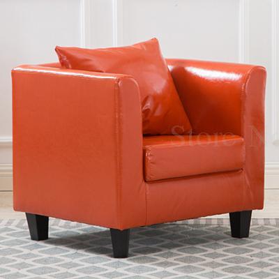 Тканевая одноместная Софа стул Европейская маленькая квартира отель кафе интернет кафе карточка сиденья PU диван - Цвет: VIP 16