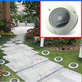 Pack of 10 Outdoor Weatherproof Solar Buried Ground Light Underground Floor Landscape Garden Fence Garden Stairsway Step Lamp