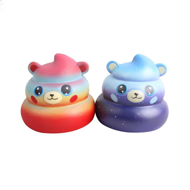 Squishy Toys Novelty & Gag Toy Foam Squishies Slow Rising Jumbo Cartoon Bear Poo Scented Squeeze Toy 15S888 wholesale