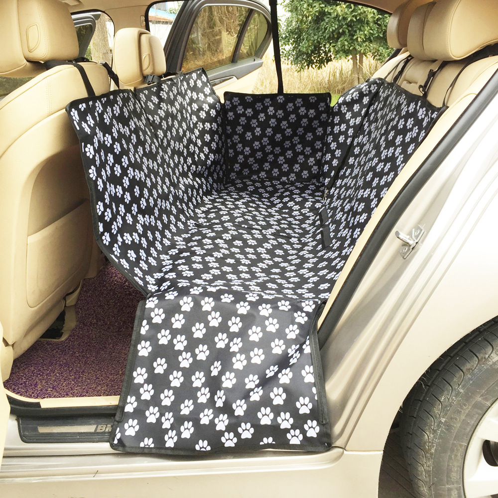 Dog Car Protector >> Us 17 4 Fine Joy Pet Carriers Car Travel Dog Cat Carrier Waterproof Foldable Rear Back Pet Dog Car Seat Cover Mats Hammock Protector In Dog Carriers